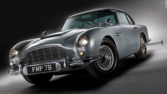 Chiêm ngưỡng những mẫu xe ấn tượng của James Bond 007