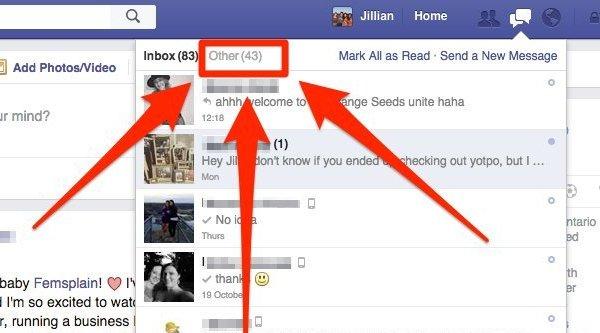 Facebook 'thủ tiêu' mục Tin nhắn khác