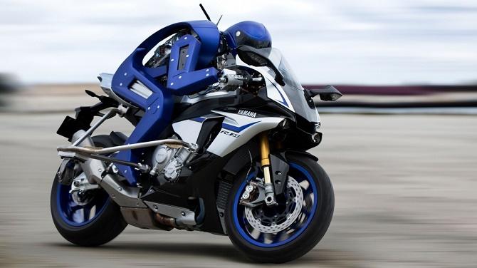 Yamaha thiết kế robot lái xe điệu nghệ