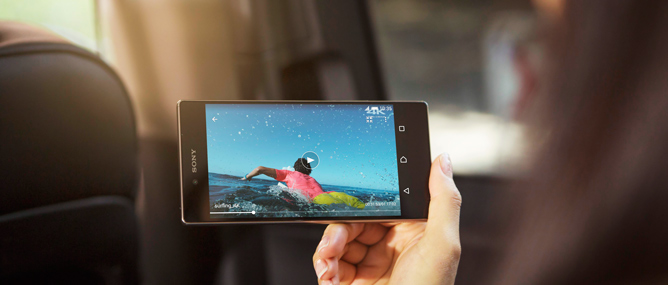 Top 5 mẫu smartphone sắc nét nhất 2015