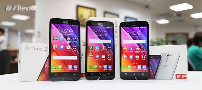 Tặng bạn đọc 3 chiếc điện thoại Asus Zenfone Laser