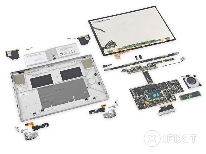 Điểm số mà iFixit dành tặng cho chiếc Surface Book là điểm số thấp nhất trên thang điểm của công ty này: 1/10.