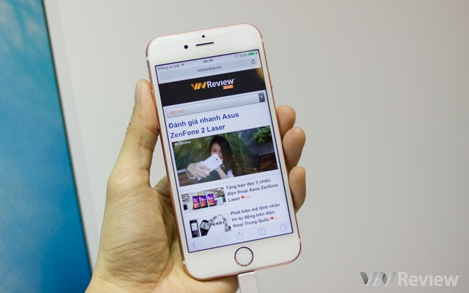 Hình ảnh đập hộp bộ đôi iPhone 6s và 6s Plus chính hãng tại Việt Nam