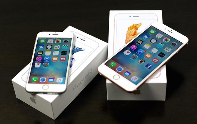 Viettel, Vinaphone công bố giá bán iPhone 6s/6s Plus