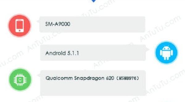 Lộ diện thông tin Samsung Galaxy A9, màn hình to hơn dự kiến