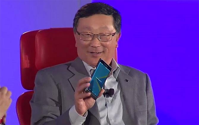 CEO John Chen của BlackBerry nói về chiến lược sau BlackBerry Priv