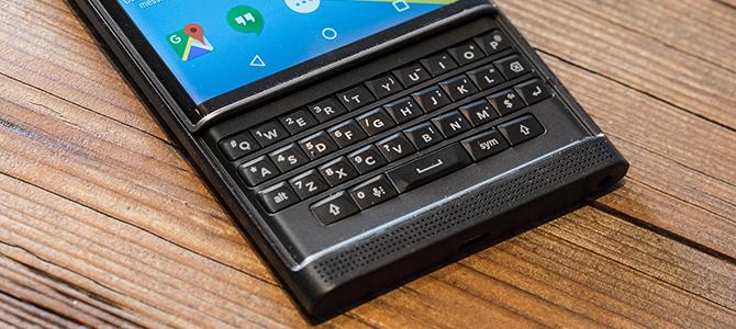 8 điểm đáng chú ý nhất khi trải nghiệm BlackBerry Priv