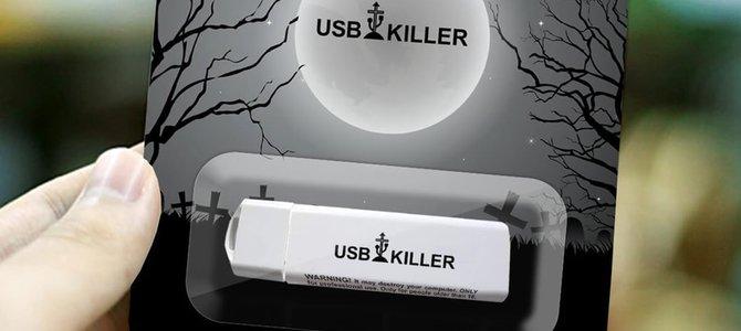USB Killer: Bảo vệ máy tính bằng cách... 'giết' cổng USB