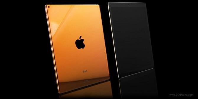 iPad Pro đã bắt đầu cho đặt hàng trước, có bản gold, bạc và vàng hồng