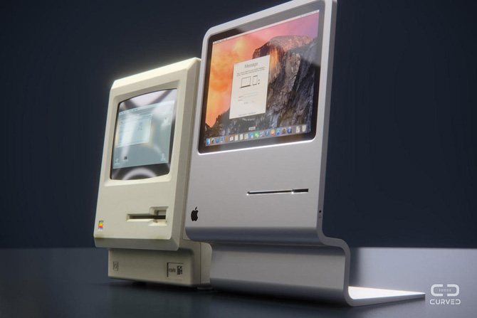 Thập niên 1980 đã trôi qua rất lâu, nhưng điều gì sẽ diễn ra nếu như Apple tái sử dụng lại thiết kế xưa cũ của mình cho các dòng sản phẩm mới mẻ hơn?