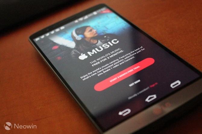 Apple Music đã có mặt trên Android