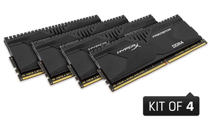 HyperX ra mắt bộ kit RAM Savage và Predator lên tới 128GB