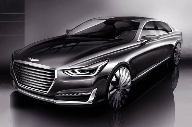 Concept đầu tiên từ thương hiệu xe sang của Hyundai