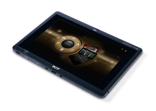 Tablet Acer chạy được song song hai hệ điều hành