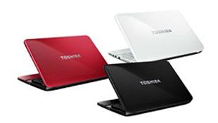 Toshiba giới thiệu 3 series laptop Satellite mới