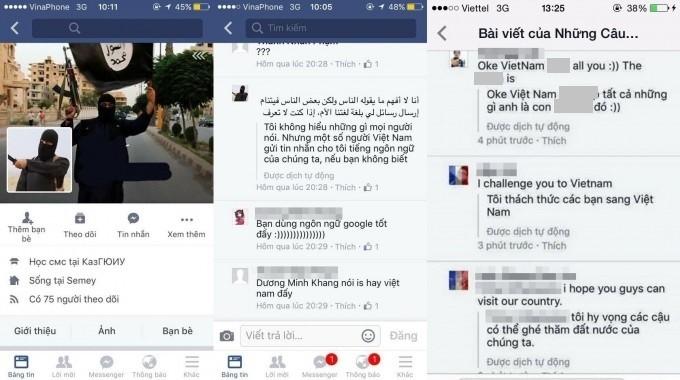 Vụ mạo danh Facebook thành viên IS: Bộ công an vào cuộc
