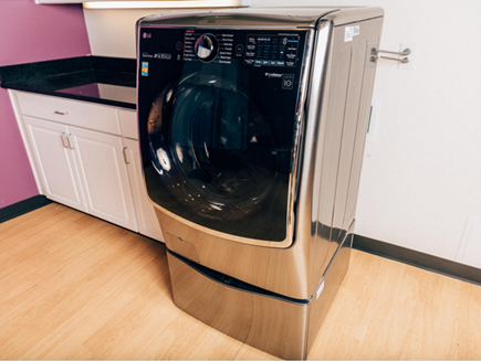 LG ra mắt máy giặt kép với lồng giặt phụ dạng ngăn kéo - ảnh 1