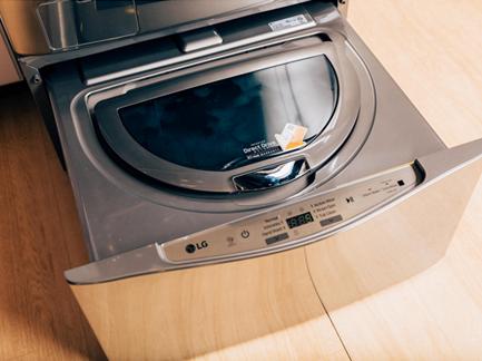 """LG ra mắt máy giặt """"kép"""" với lồng giặt phụ dạng ngăn kéo - 181958"""