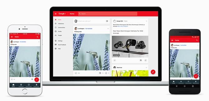 Google+ hồi sinh với thiết kế hoàn toàn mới