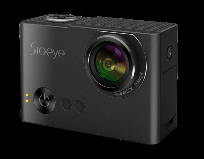Sioeye giới thiệu camera hành động đầu tiên có live streaming