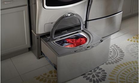 """LG ra mắt máy giặt """"kép"""" với lồng giặt phụ dạng ngăn kéo"""