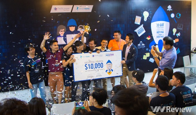Career Guru giành giải 10.000 USD tại Hackathon 2015 của VietnamWorks