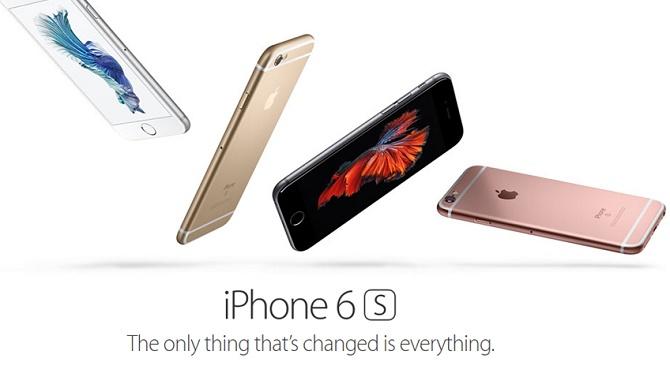 """Câu khẩu hiệu """"Thứ duy nhất thay đổi là tất cả mọi thứ"""" được Apple dùng để quảng bá cho iPhone 6s đã khiến một cửa hàng bán lẻ của China Mobile gặp rắc rối lớn."""