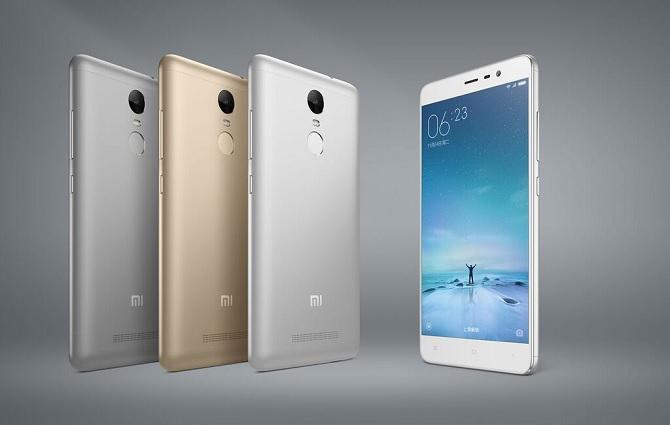 Xiaomi chính thức trình làng Redmi Note 3