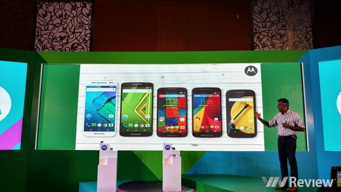 Motorola chính thức trở lại Việt Nam với Moto G, E và loạt Moto X, X Play, X Style