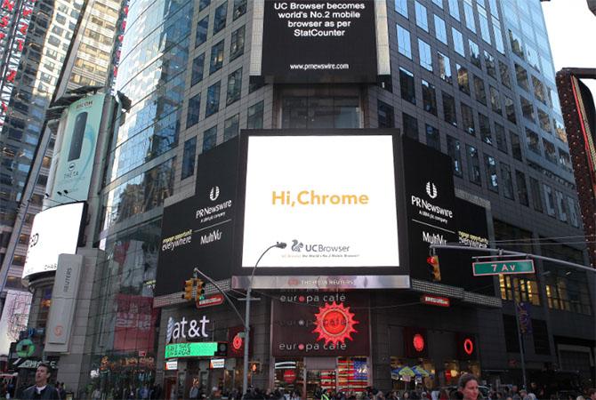 Vượt thị phần Safari, UC Browser nhắm tới Google Chrome
