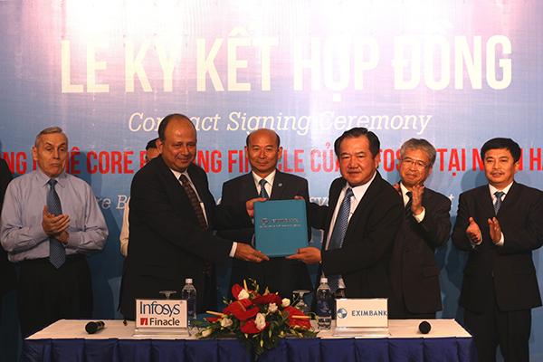 Triển khai công nghệ Core Banking Finacle của Infosys tại Ngân hàng Eximbank