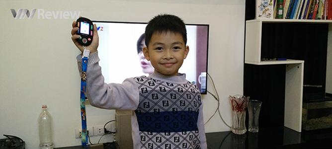 Trên tay điện thoại trẻ em MKIDs của Viettel