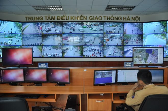 Hà Nội: Ngày đầu tiên xử phạt nguội vi phạm giao thông qua camera