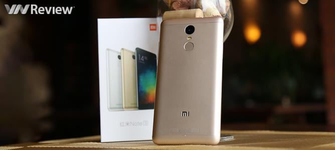 Đánh giá nhanh Xiaomi Redmi Note 3