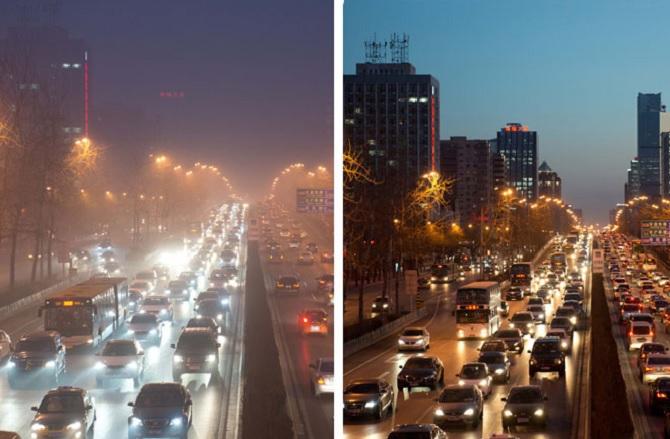 Ô nhiễm không khí trầm trọng buộc Bắc Kinh phải đóng cửa các nhà máy