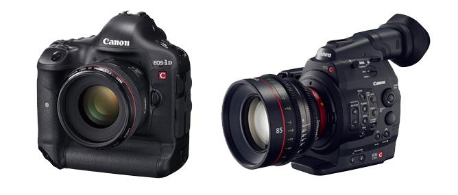 Canon ra EOS-1D C và C500 quay được video 4K
