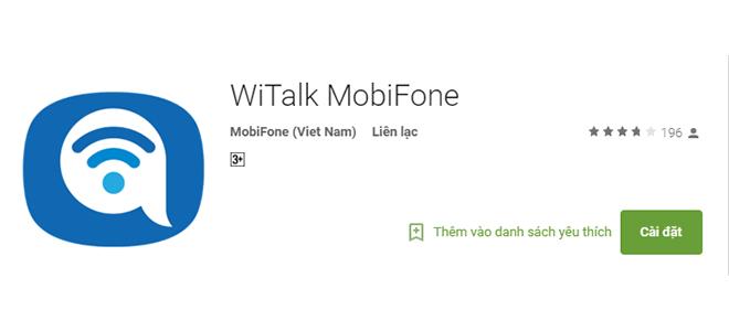 """Chớ hiểu lầm WiTalk là ứng dụng gọi điện nhắn tin """"miễn phí"""""""