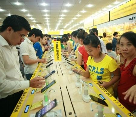 Thị trường smartphone Việt Nam sôi động dịp cuối năm