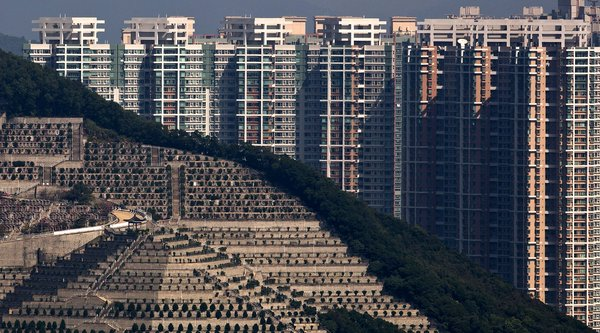 Hong Kong không còn đất để chôn người chết