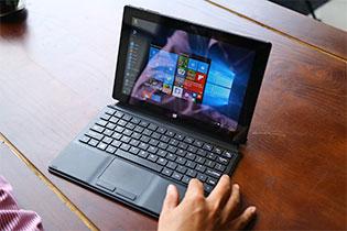 Trên tay máy tính bảng Masstel Tab W101: giá rẻ, chạy Windows 10