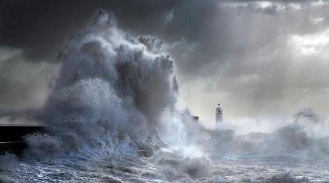 Stormy Porthcawl - Steve Garrington