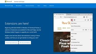 Microsoft Edge sẽ có tiện ích mở rộng, tích hợp plug-in