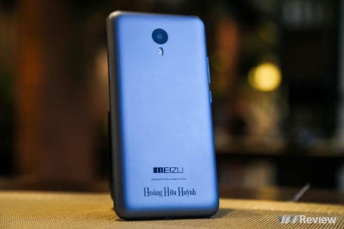 Đánh giá nhanh Meizu M2 Note