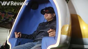 Công nghệ chiếu phim 9D bất ngờ xuất hiện tại Hà Nội