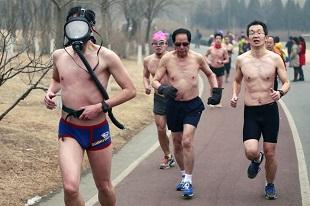 Bộ ảnh sửng sốt về mức độ ô nhiễm không khí tại Trung Quốc