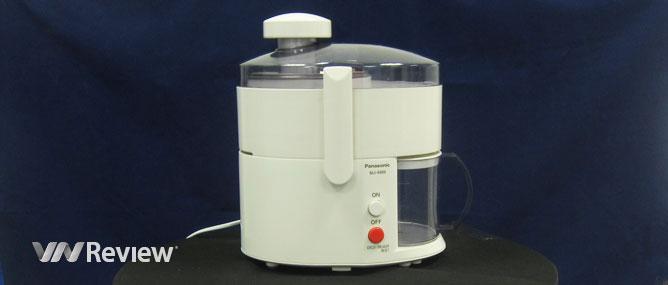 Đánh giá máy ép trái cây Panasonic MJ68M