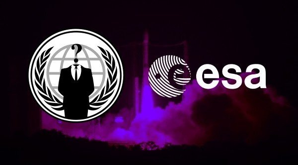 Anonymous hack dữ liệu Cơ quan Không gian Châu Âu cho... vui