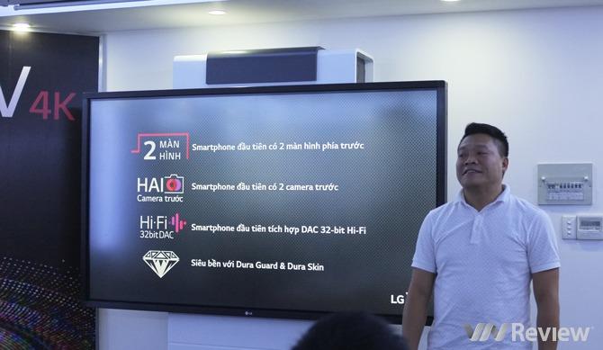 LG V10 ra mắt ở Việt Nam: 2 màn hình, chip âm thanh DAC 32-bit, giá 16 triệu đồng