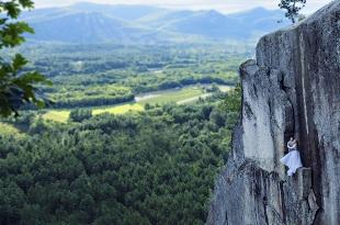 Những bức ảnh ấn tượng chụp từ vách đá cao 107m