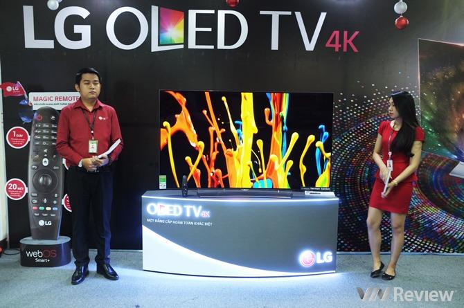 LG ra mắt 2 mẫu TV OLED 4K màn hình cong tại Việt Nam, giá từ 80 triệu đồng